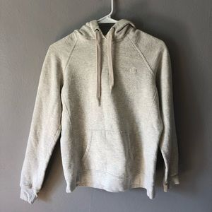 Cream colored champion hoodie